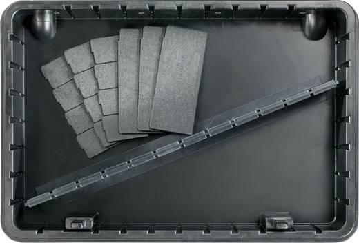 Elektronikai szervizkoffer, 64 részes, Bernstein Security 6750