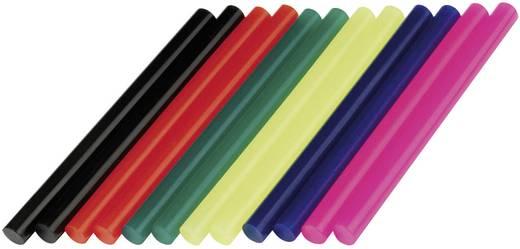 Dremel 2615GG05JA 12db-os színes műanyag ragasztóstift, ragasztópálca készlet 7 mm
