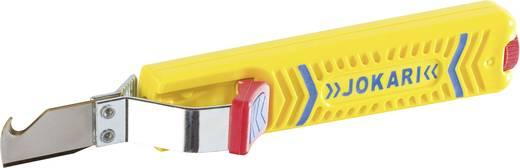 Jokari No. 28 H Secura 10280 kábelkés, blankoló kés kampós pengével, hengeres kábelekhez Ø 8 - 28 mm-ig