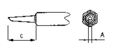 Pákahegy WMP sorozathoz, csapott 1,2 mm, Weller NT 4
