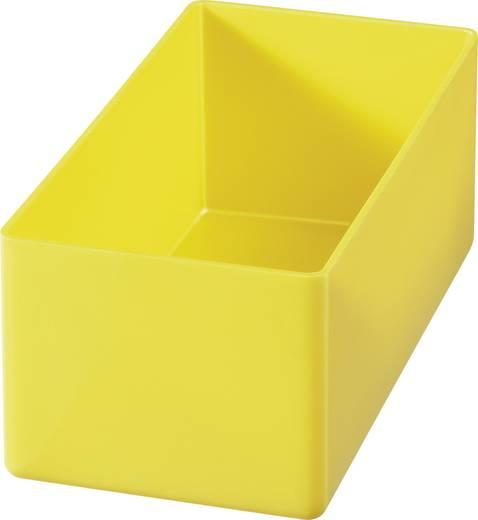 Alutec 1 részes alkatrésztároló, sárga, 108 x 54 x 45 mm