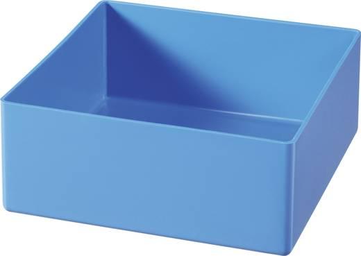 Alutec 1 részes alkatrésztároló, kék, 108 x 108 x 45 mm