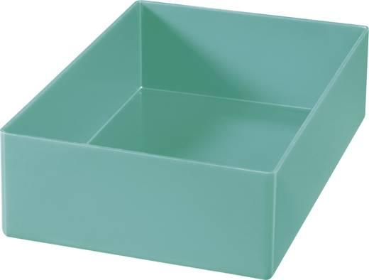 Alutec 1 részes alkatrésztároló, zöld, 162 x 108 x 45 mm