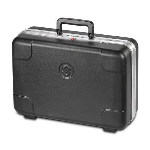PARAT műanyag szerszámkoffer, fekete, 465 x 170 x 310 mm