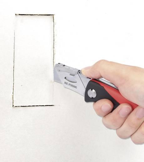 Toolcraft univerzális zsebkés, cserélhető pengéjű többfunkciós szőnyegvágó kés