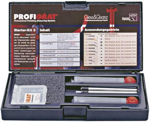PROFIGRAT® kézi sorjátlanító kezdő készlet 3