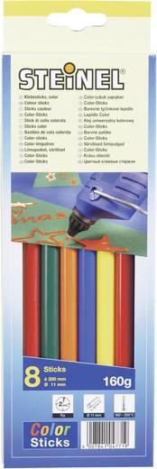 Steinel ragasztórúd, színes 8 részes készlet, 11 mm 200 mm Steinel 047719