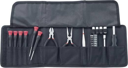 Elektronikai szerelő készlet táskában 25 részes, Basetech 814492