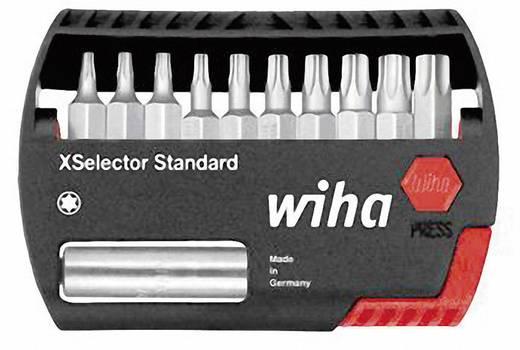 Torx bit készlet, 21 részes, 50 mm hosszú, Wiha 32803 XLSelector Standard