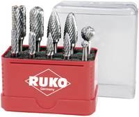 Keményfém maróstift, frézer készlet 10 részes 6mm-es szárral RUKO 116002 (116002) RUKO