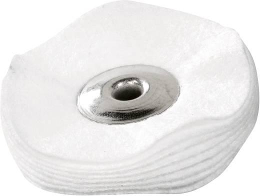 Dremel textil polírozó korong, szövet polírvatta 25mm-es átmérővel