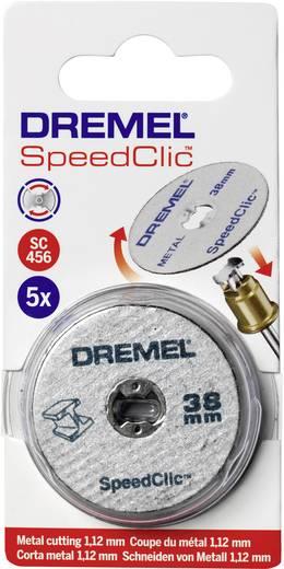 Dremel SC 456 SpeedClic 38 mm átmérőjű 12db-os fém vágótárcsa készlet