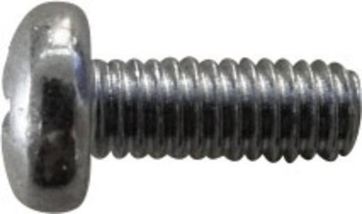 Lencsefejű csavarok, DIN 7985 M3 x 6, 100 részes