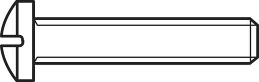 Lencsefejű csavarok, DIN 7985 M3 x10, 100 részes