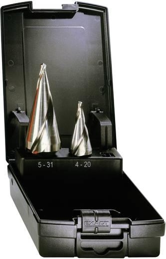 HSS kúposfúró 2részes készlet, spirálhoronnyal 5 - 31 mm, 5 - 20 mm HSS Exact 05281