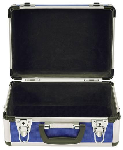Szerszámtároló alukoffer, üres 320x230x150 mm, kék Toolcraft