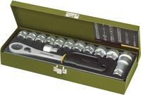 """14 részes racsnis dugókulcs készlet, racsnis krova készlet 13mm - 27mm között 12,5mm (1/2"""" ) hajtáshoz, Proxxon  Proxxon Industrial"""