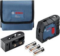 Pontlézer Önszintező Bosch Professional GPL 3 Hatótáv (max.): 30 m Kalibrált: Gyári standard (tanusítvány nélkül) Bosch Professional