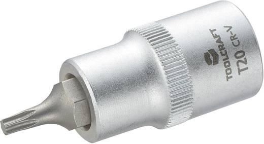 Dugókulcs betét 12,5 mm (1/2), T-profillal T20, hossz: 55 mm, TOOLCRAFT