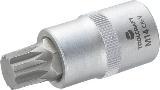 Dugókulcs betét 12,5 mm (1/2), sokfogú bittel M14, hossz: 55 mm, TOOLCRAFT