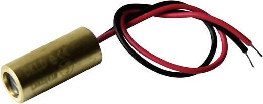 Lézermodul vonal piros 5 mW Laserfuchs LFL650-5-12(9x20)90