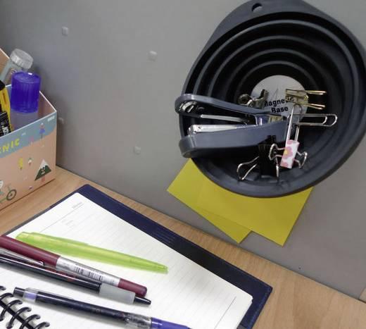 Mágneses szerszámtartó, alkatrésztároló tál, Ø127x148 mm, Basetech