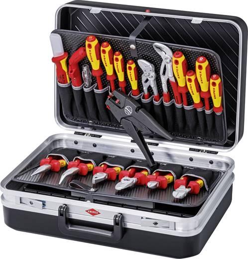 20 részes szerszámbőrönd, elektromos, Knipex 00 21 20