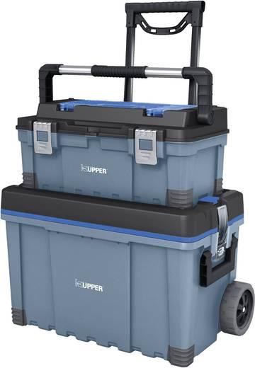 Görgős kocsi szerszámos táskával Küpper 50200, méret: (Sz x Ma x Mé) 645 x 635 x 373 mm, súly: 10 kg