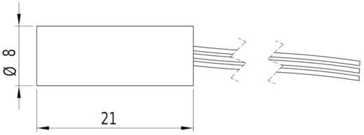 Lézermodul pont piros 0.4 mW Picotronic DI650-0.4-3(8x21)