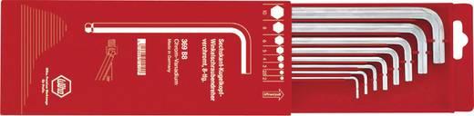 Imbuszkulcs készlet kihúzható tartóban, gömbfejű, Wiha 369B8 01410