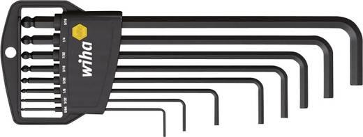 Imbuszkulcs készlet klasszikus tartóval, gömbfejű, 8 részes, Wiha 01420