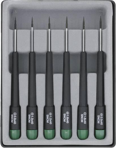 Lapos csavarhúzó készlet, 6 részes, pengehossz 40 mm, Donau 280-60