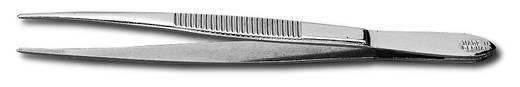 Hegyes egyenes csipesz, 120 mm, Donau PZ1