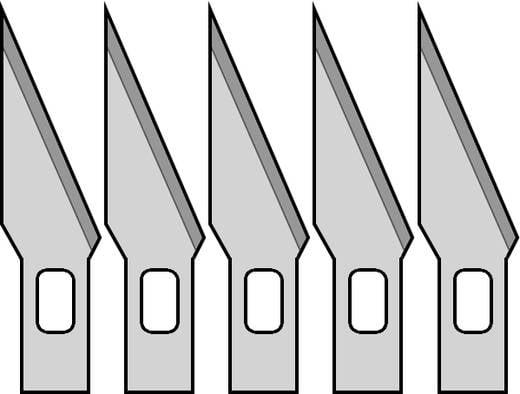 5 db tartalék penge a formatervező késhez, Donau MS05