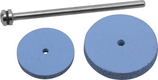 Donau Elektronik 2 db szilikon polírozótárcsa, Ø 17+22 mm, tüskével 1606<b