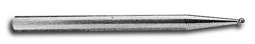 Gömbfejű gyémántcsiszoló szár Ø 1 mm, Donau 1710