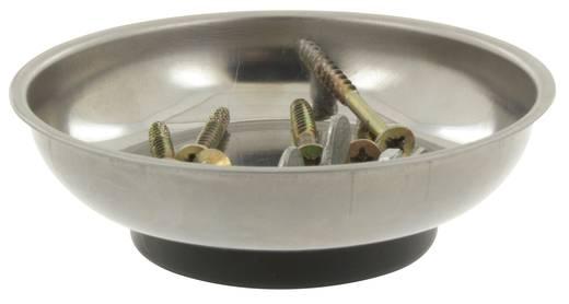 Mágneses szerszámtartó, alkatrésztároló tál, 10,5 cm, Donau RS10