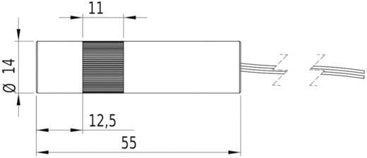 Vonal lézermodul, piros 16 mW Picotronic LC650-16-3-F(14x55)