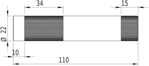 Vonal lézermodul, piros 16 mW Picotronic LE650-16-3-F-S(22x100)90