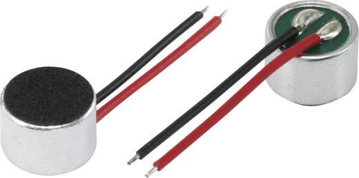 Mikrofonkapszula, KPCM sorozat Üzemi feszültség: 4.5 V/DC Érzékenység: 40 dB ± 3 dB Frekvenciatartomány: 100 - 10000 Hz