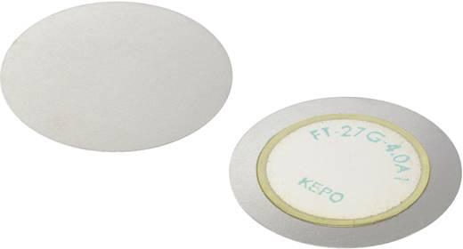 Piezokeramikus jelátalakító, 30 V/AC 4 ± 0.5 kHz KEPO FT-27G-4.0A1-K887