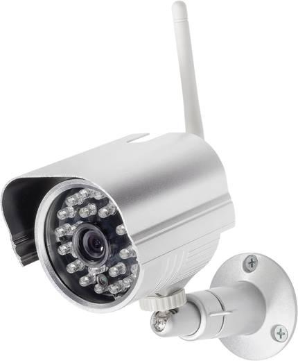 Vezeték nélküli felügyelő készlet 2,4 GHz digitális rádió kamera, 420 TVL, Renkforce