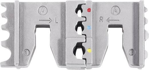 Racsnis krimpelő fogó sarukhoz, érintkezőkhöz Toolcraft 818644 2-IN-1