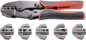 Koax krimpelő fogó 7 részes készlet BNC, TNC, LWL, Toolcraft 818645 TOOLCRAFT