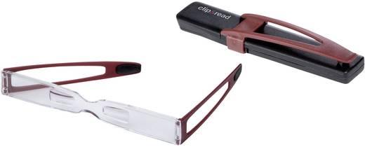 Nagyítós olvasó szemüveg, 1,5 dioptria, piros, Eschenbach 2916115