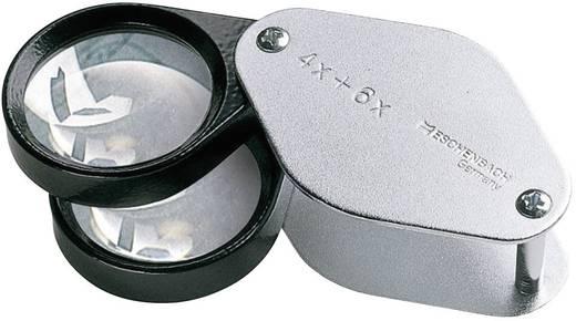 Összecsukható zsebnagyító 4,0 x + 6,0 x = 10,0 x 30 mm nagyítással Eschenbach 1187