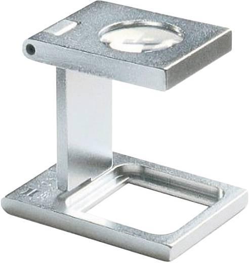 Precíziós szál számláló nagyító, fém, 15x15mm, 10-szeres Eschenbach 1255 10,0 x