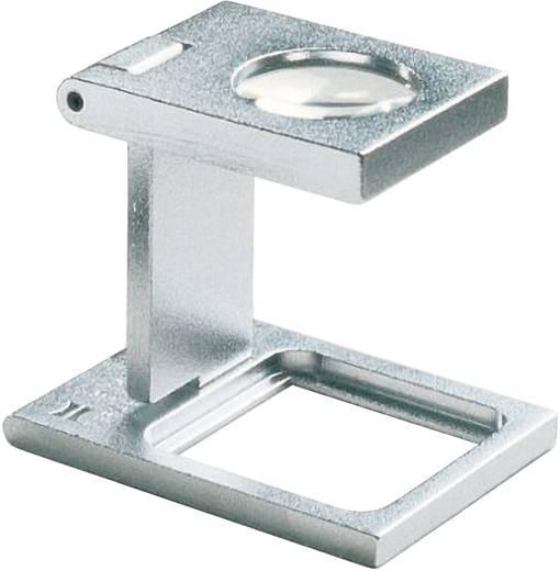 Precíziós szál számláló nagyító, fém, 20x20mm, 8-szeres Eschenbach 1256 8,0 x