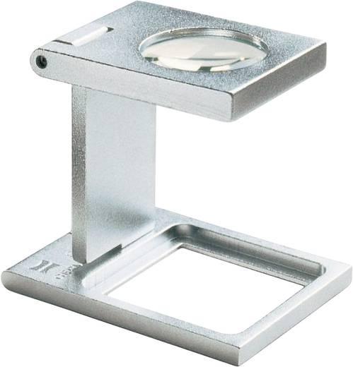 Precíziós szál számláló nagyító, fém, 25 x 25 mm, 6,0-szeres Eschenbach 1258 6,0 x