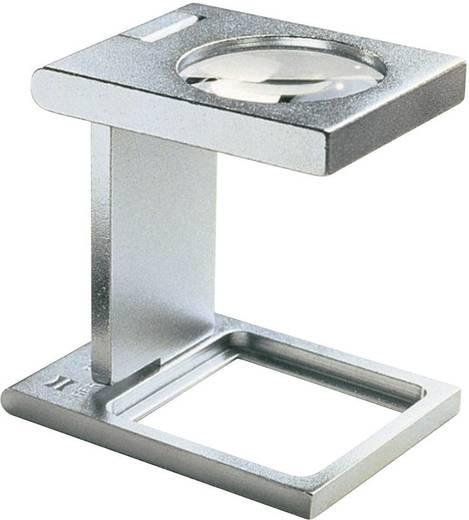 Precíziós szál számláló nagyító, fém, 30 x 30 mm, 5,0-szeres Eschenbach 1259 5,0 x